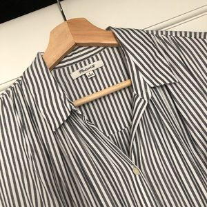 •Madewell• Striped tunic dress